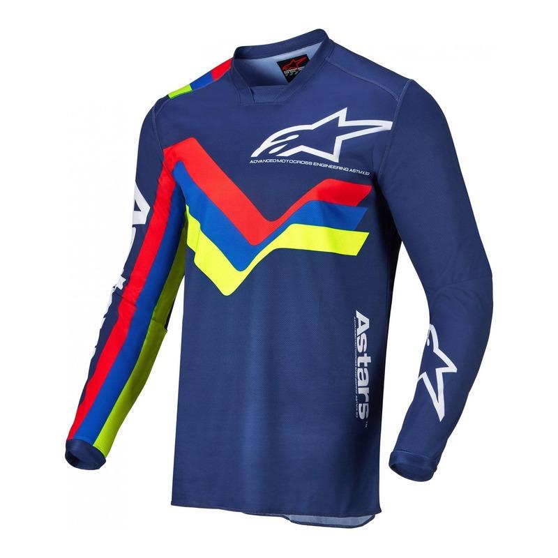 Maillot cross Alpinestars Racer Braap dark bleu