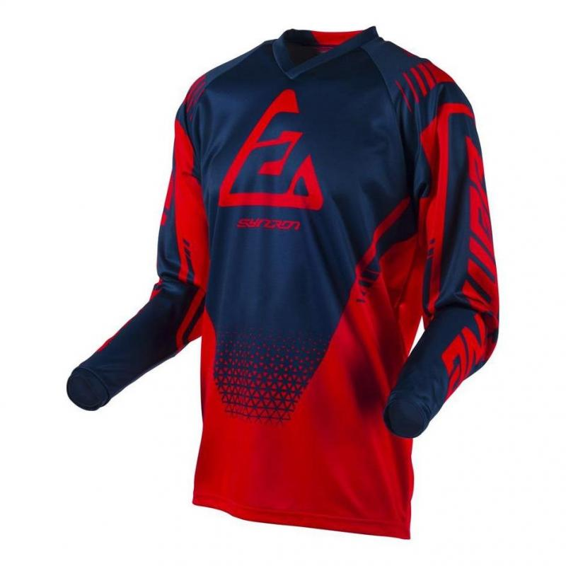 Maillot cross Answer Syncro Drift rouge/midnight