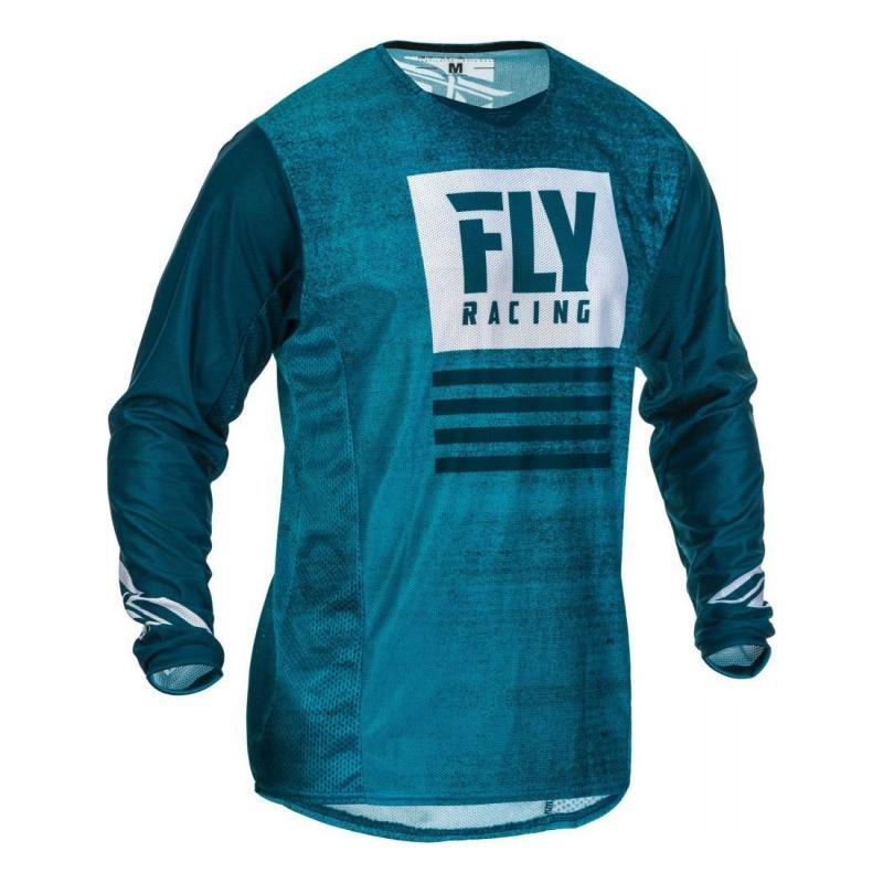 Maillot cross Fly Racing Kinetic Mesh Noiz bleu/navy
