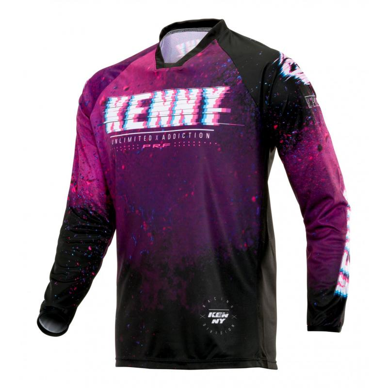 Maillot cross Kenny Performance Element violet