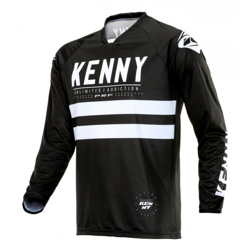 Maillot cross Kenny Performance Unlimited noir