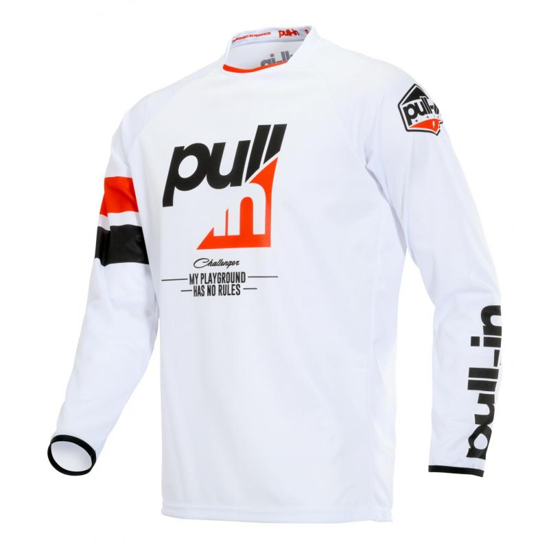 Maillot cross Pull-in Challenger Race rouge/blanc