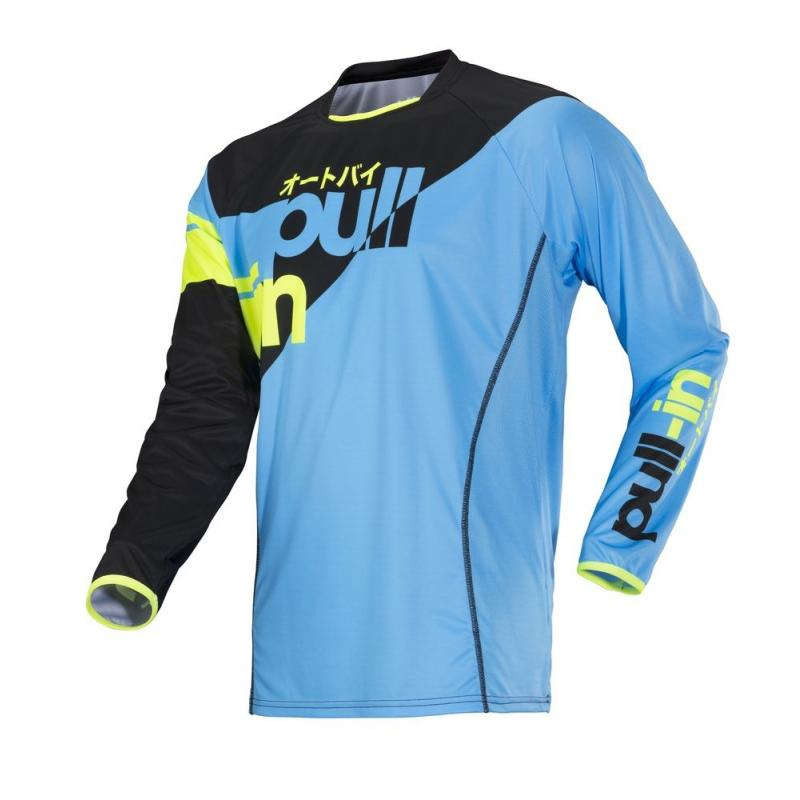 Maillot cross Pull-in Race sky