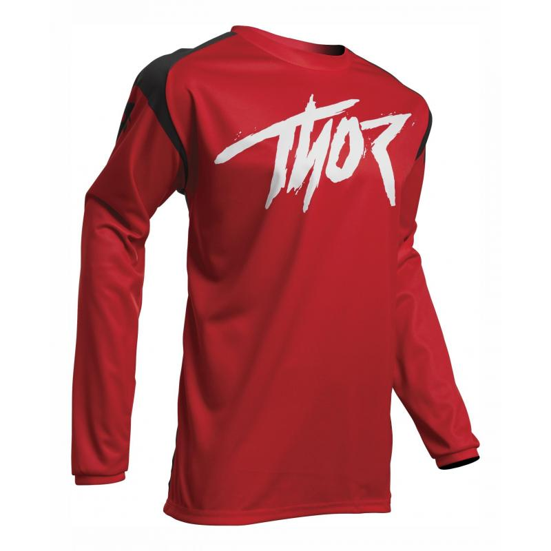 Maillot cross Thor Sector Link rouge