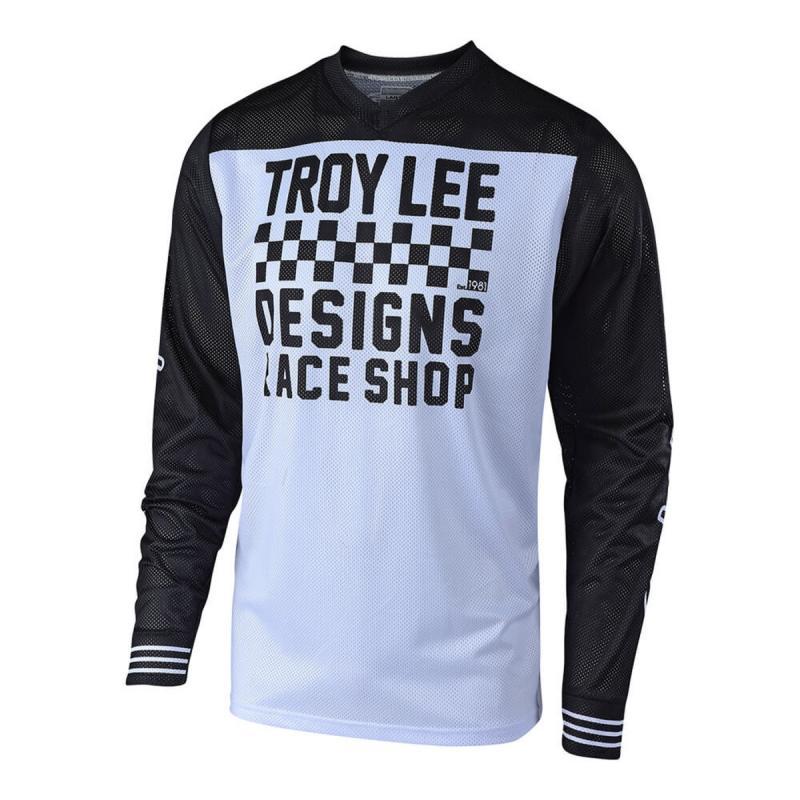 Maillot cross Troy Lee Designs GP Air Raceshop blanc