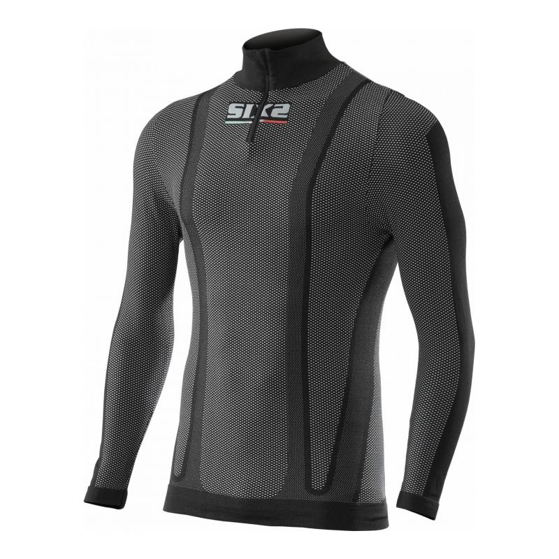 Maillot Hiver Sixs TS13W carbon black