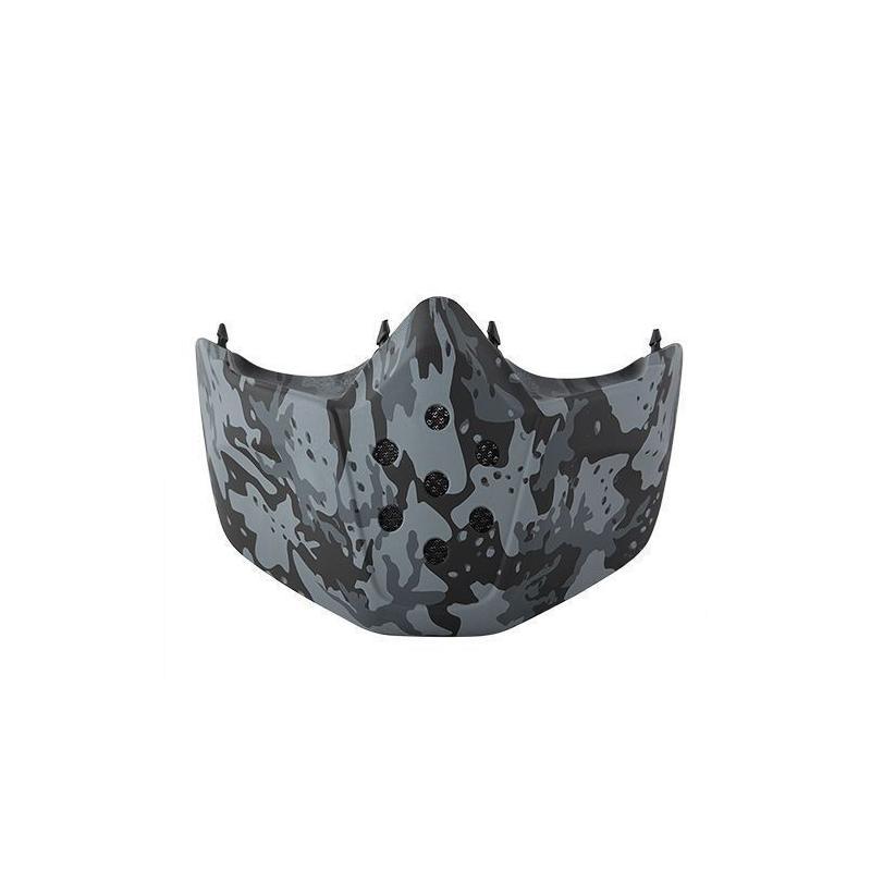 Mask camo grey Shark