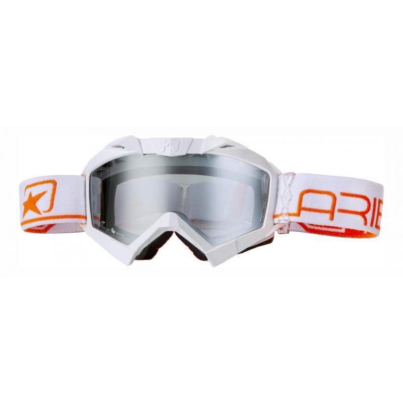Masque Ariete Adrenaline profi plus blanc/orange