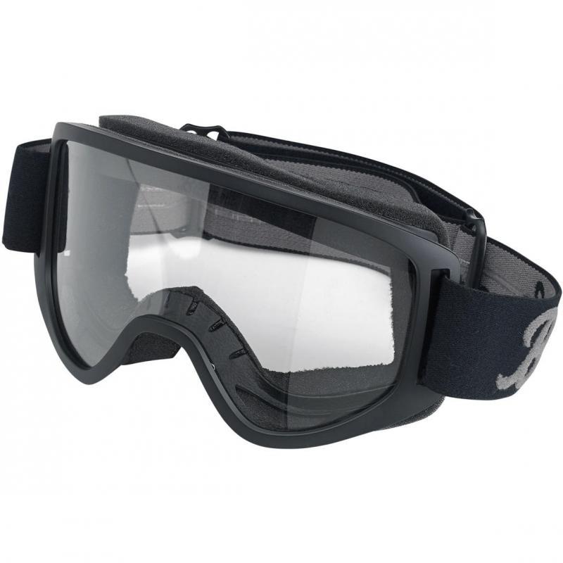 Masque Biltwell Moto 2.0 noir/gris