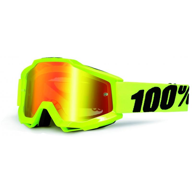 Masque cross 100% Accuri Yellow