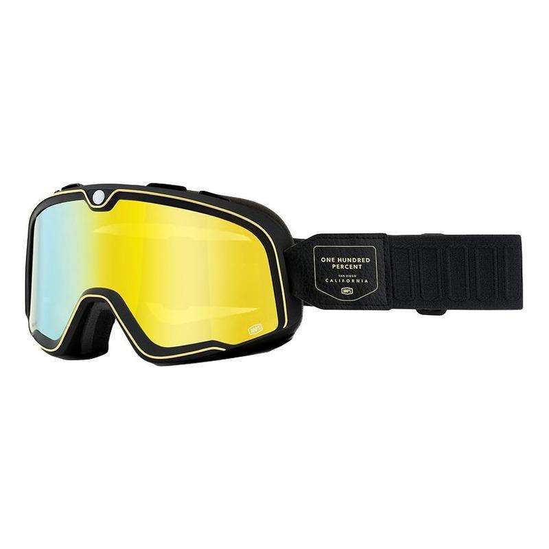 Masque cross 100% Barstow Caliber écran jaune flash