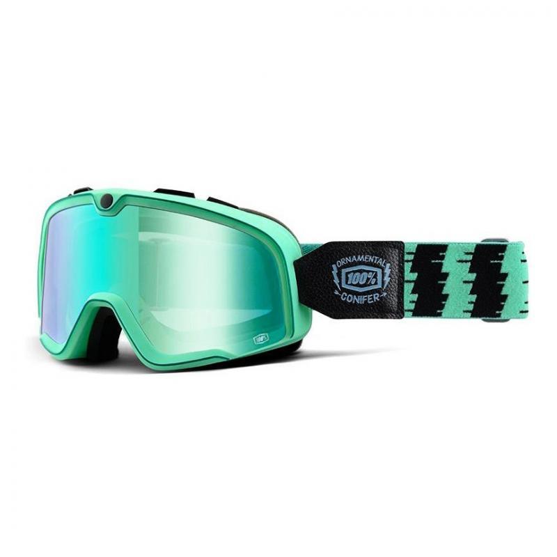 Masque cross 100% Barstow Ornemental Conifer 16 Mirror vert