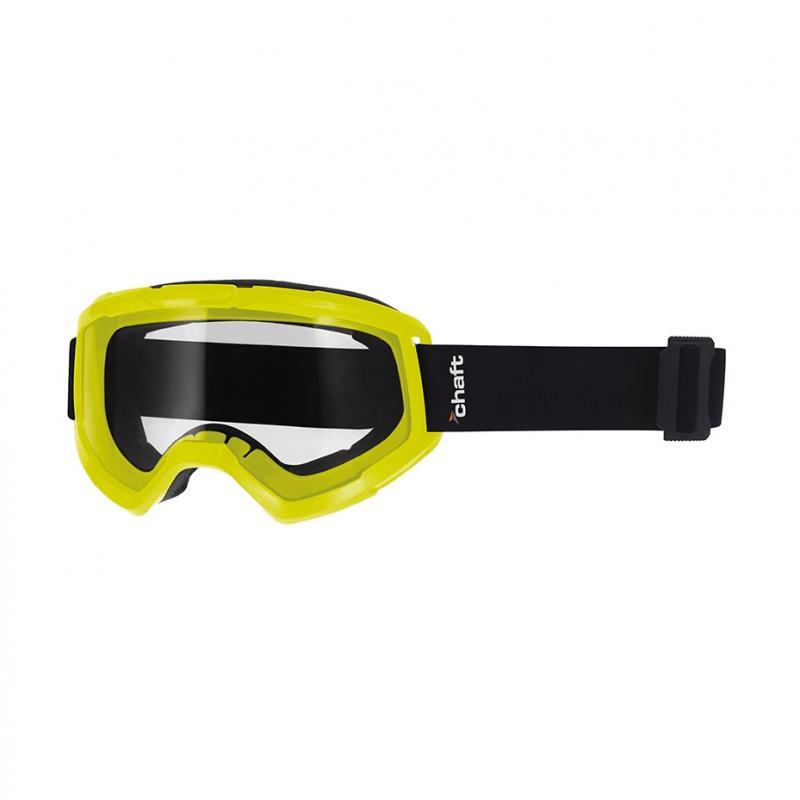 Masque cross Chaft Phantom jaune