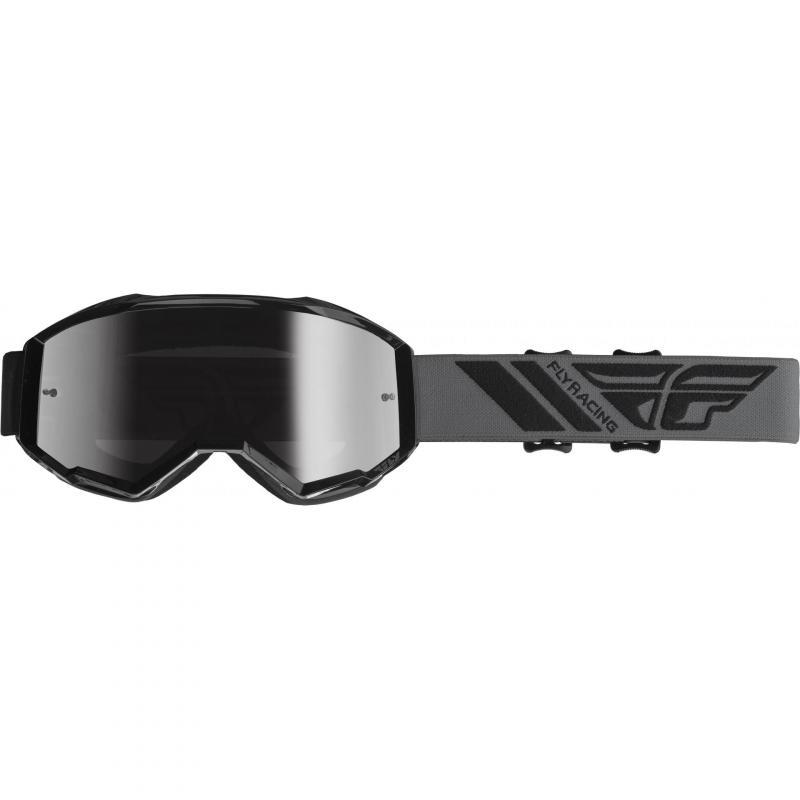 Masque cross Fly Racing Zone 2019 gris/noir