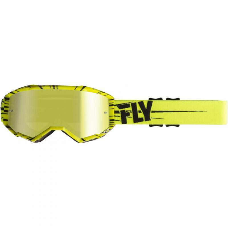Masque cross Fly Racing Zone 2019 jaune fluo/noir