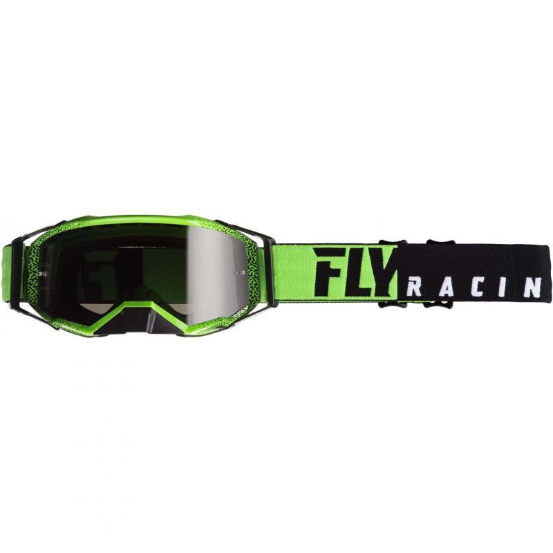 Masque cross Fly Racing Zone Pro 2019 noir/vert