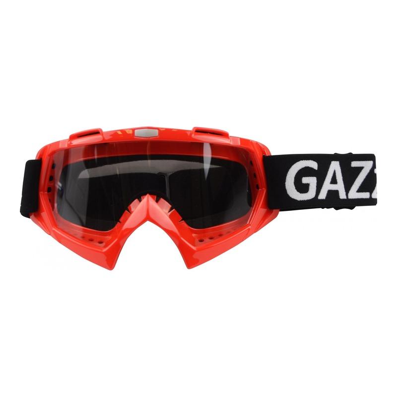 Masque cross GAZZ rouge