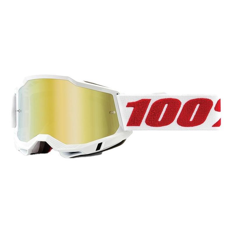 Masque cross Junior 100% Accuri 2 Denver écran iridium or