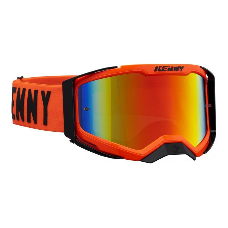 Masque cross Kenny Performance level 2 orange écran iridium