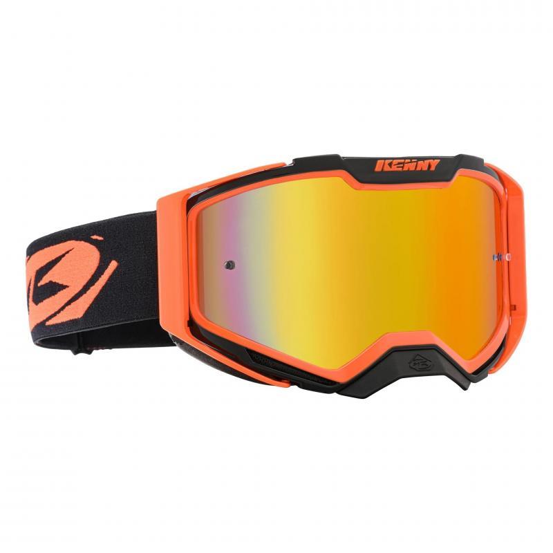 Masque cross Kenny Ventury Phase 2 orange fluo