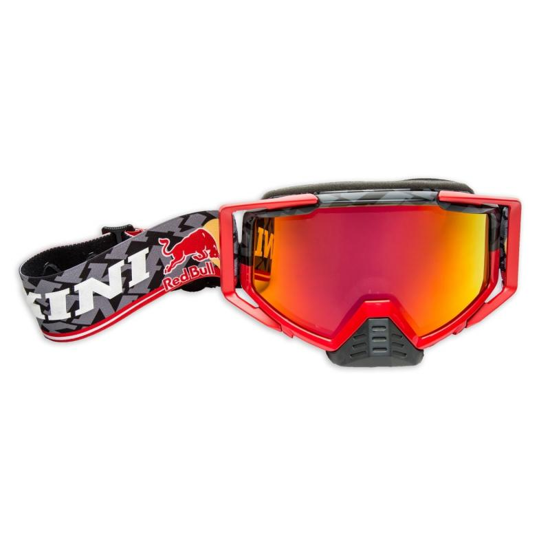 Masque cross Kini Red Bull Competition noir/rouge