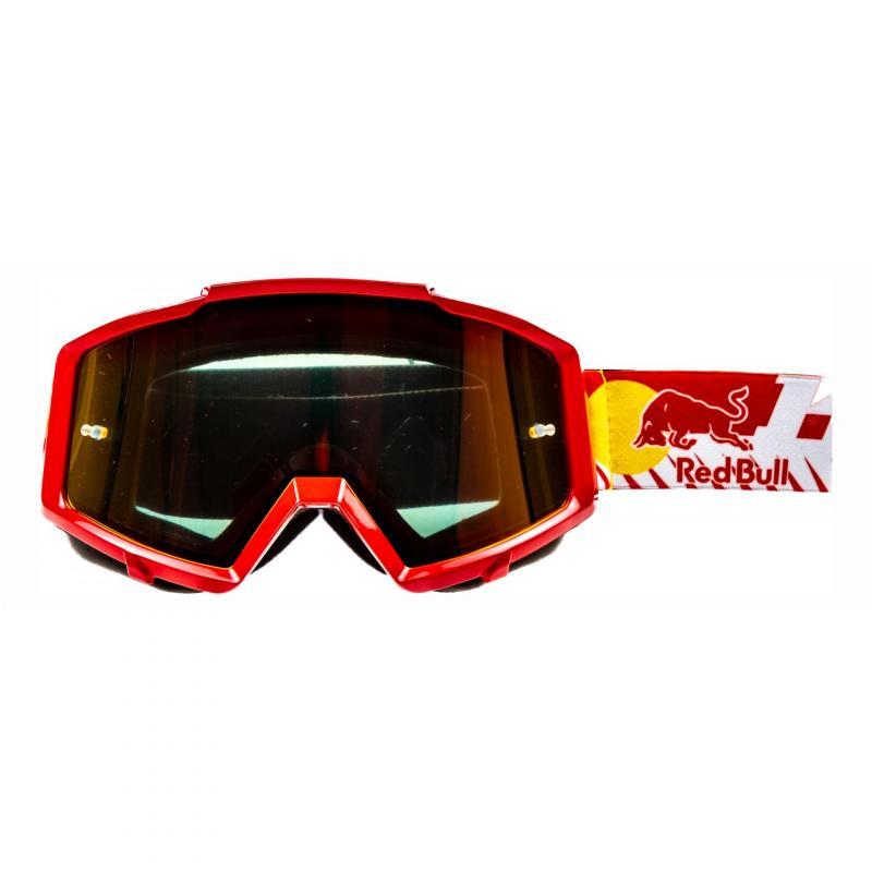 Masque cross Kini Red Bull Revolution rouge
