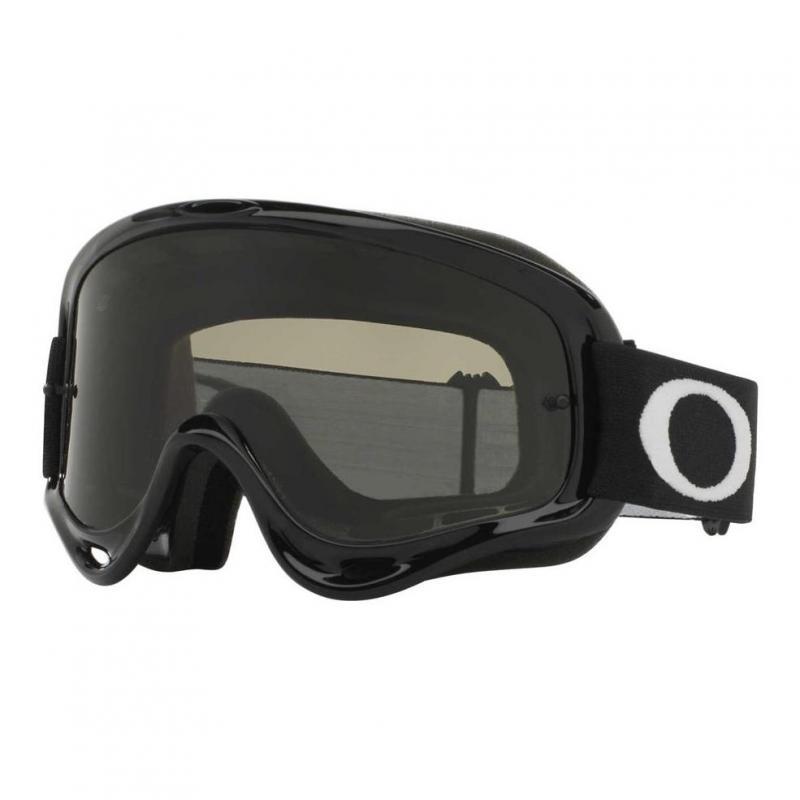 Masque cross Oakley O Frame MX Jet noir écran fumé foncé