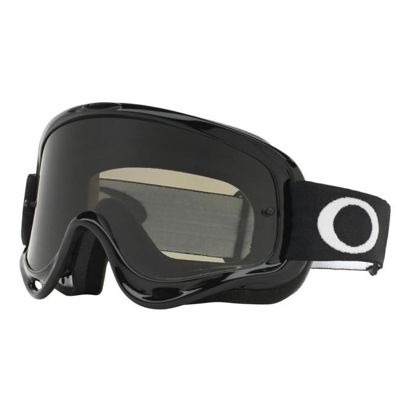 Masque cross Oakley O Frame MX Sand Jet noir écran fumé foncé