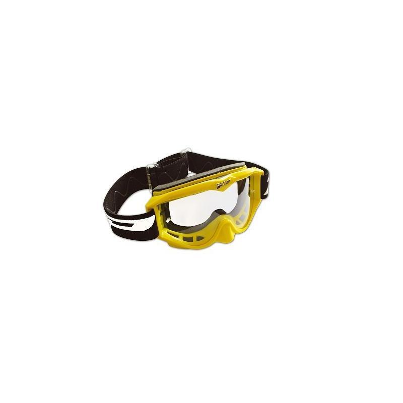 Masque cross Progrip 3200 jaune