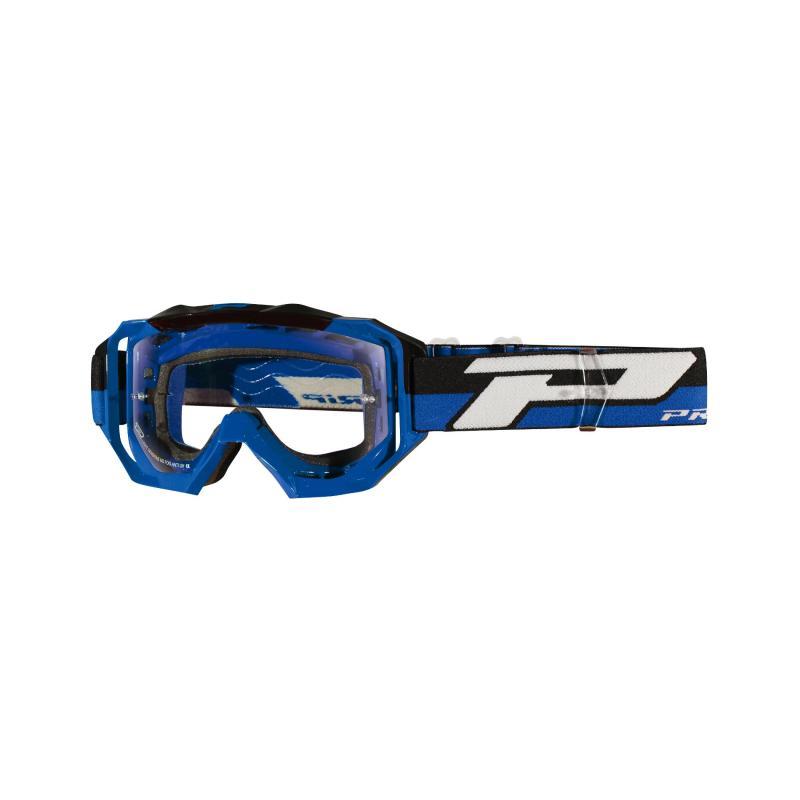 Masque cross Progrip 3200 LS bleu/noir écran light sensitive
