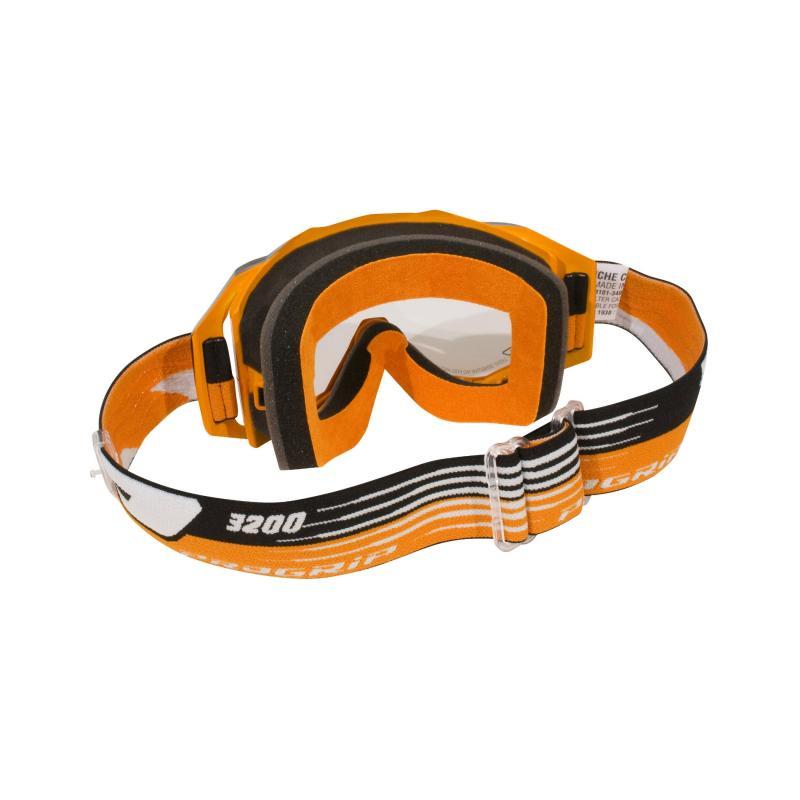 Masque cross Progrip 3200 LS orange/noir écran light sensitive