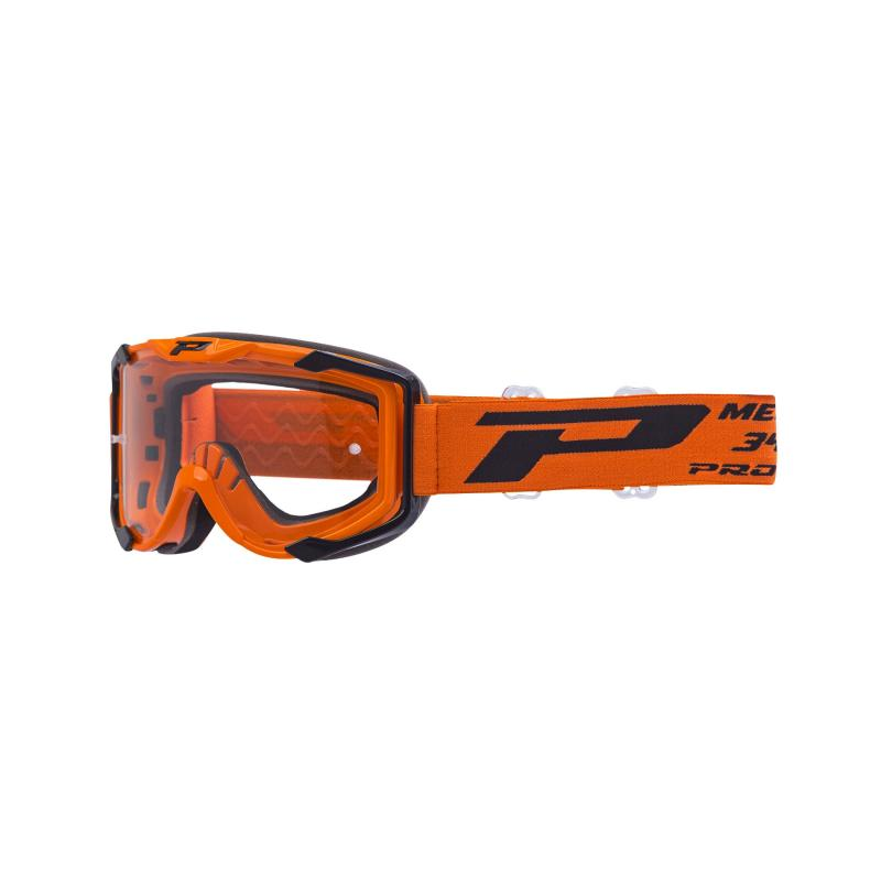 Masque cross Progrip 3400 Menace orange