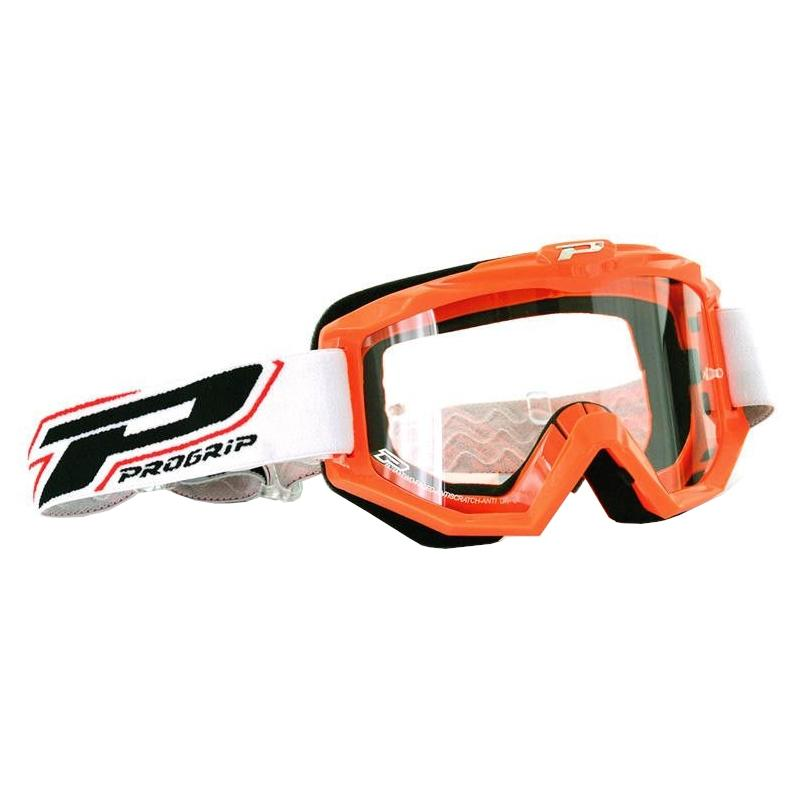 Masque cross Progrip Dual Race 3201 orange