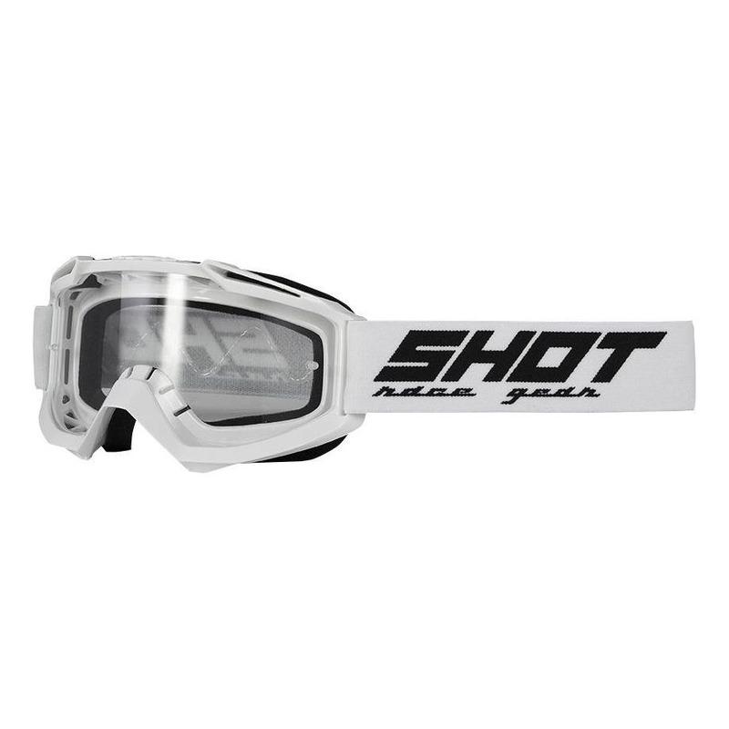 Masque cross Shot Assault blanc