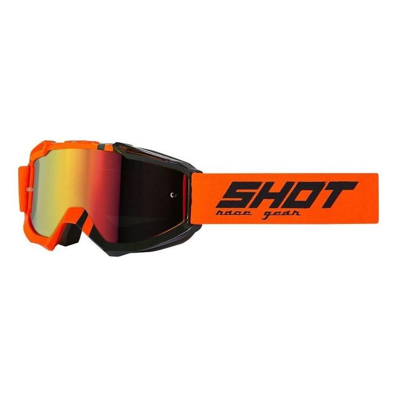 Masque cross Shot Iris Sound orange fluo