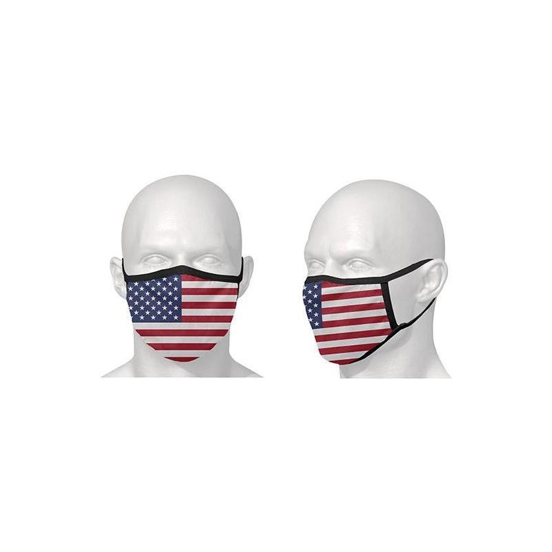 Masque de protection S-Line drapeau américain USA