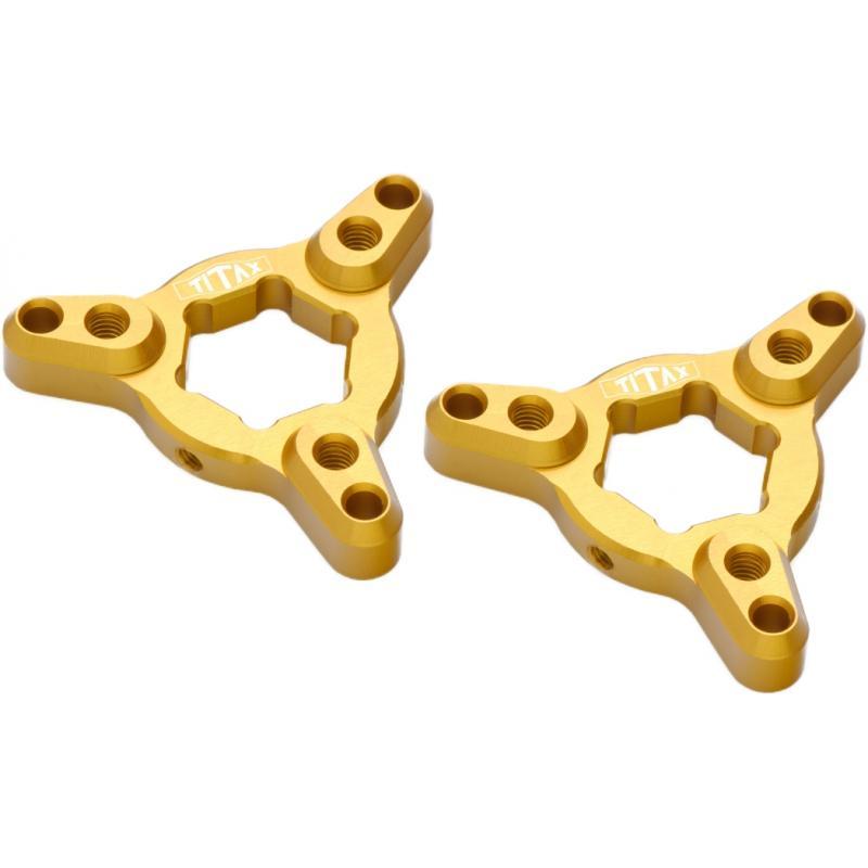 Molettes de réglage de fourche Titax ors 19 mm