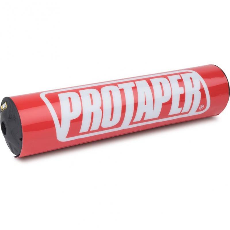 Mousse de guidon avec barre Pro Taper Race rouge (25,4cm)