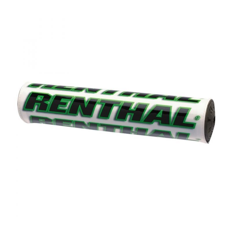 Mousse de guidon Renthal blanche / verte 240 mm