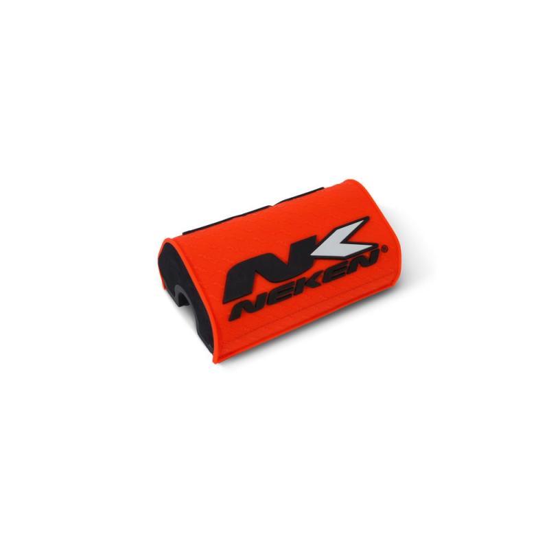 Mousse de guidon sans barre Neken orange fluo