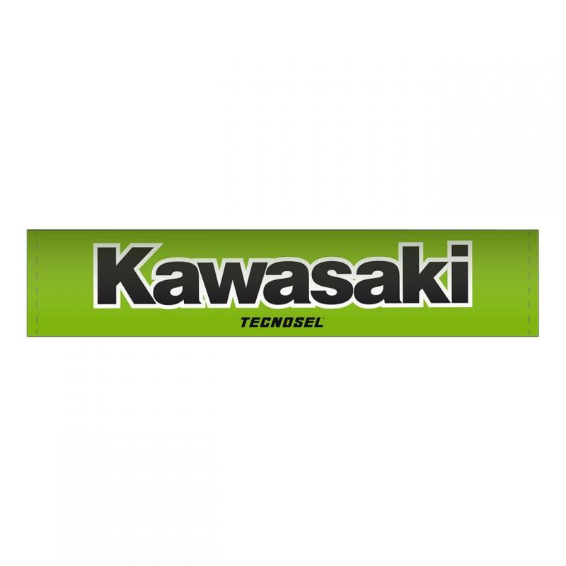 Mousse de guidon Tecnosel Kawasaki vert/noir