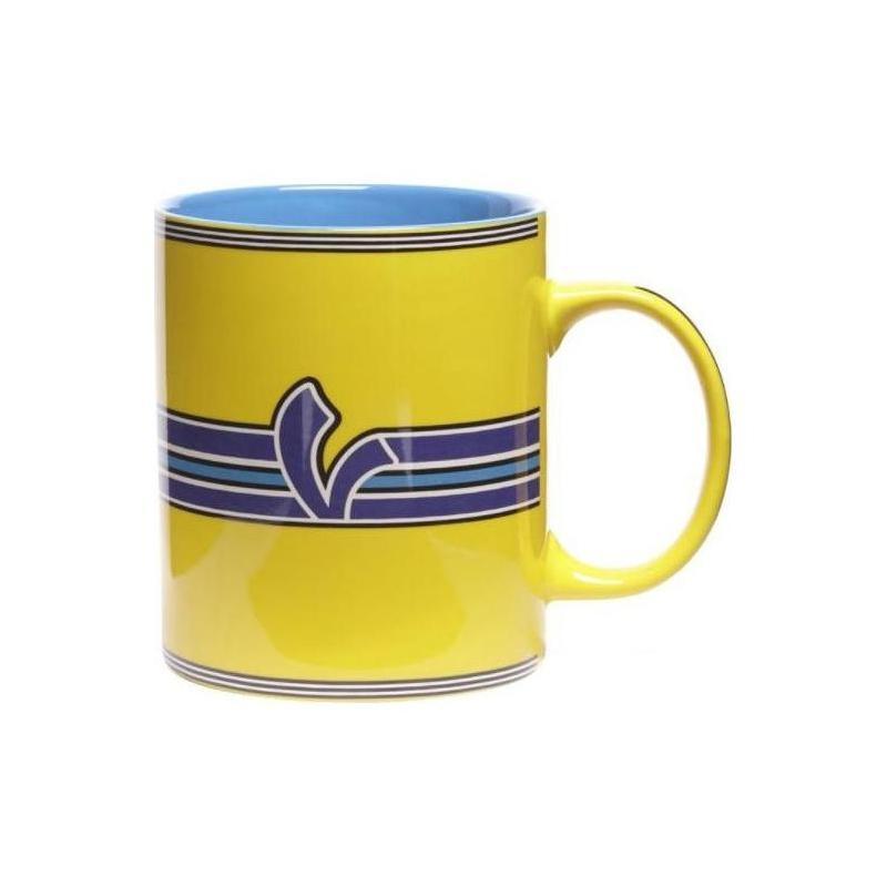 Mug Vespa V-Stripes jaune