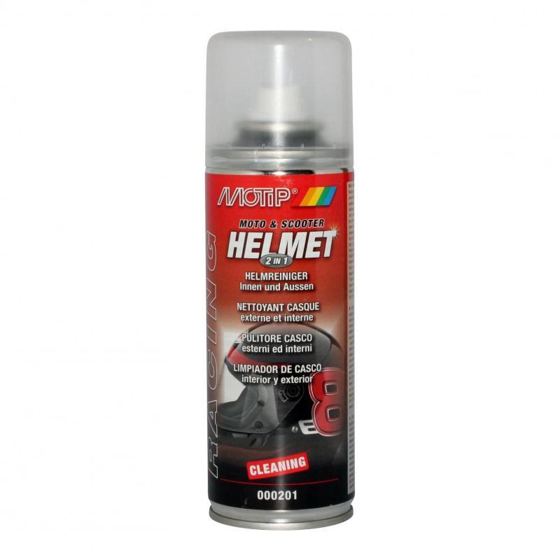 Nettoyant casque Motip 200 ml 2 en 1