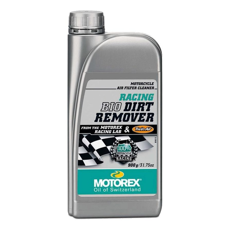Nettoyant filtre à air Motorex Racing Dirt Bio Remover 900 g