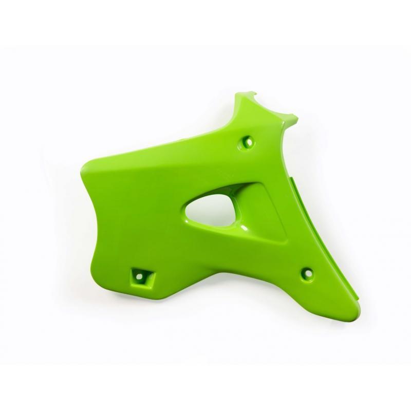 Ouïes de radiateur Acerbis Kawasaki 125/250 KX 95-98 vert (paire)