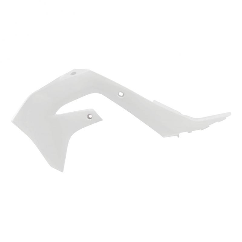 Ouïes de radiateur Acerbis Kawasaki 450 KX-F 19-21 blanc