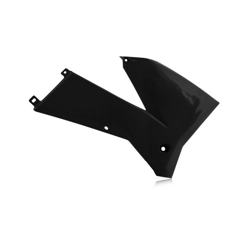Ouïes de radiateur Acerbis KTM 400/500 EXC 05-07 noir (paire)