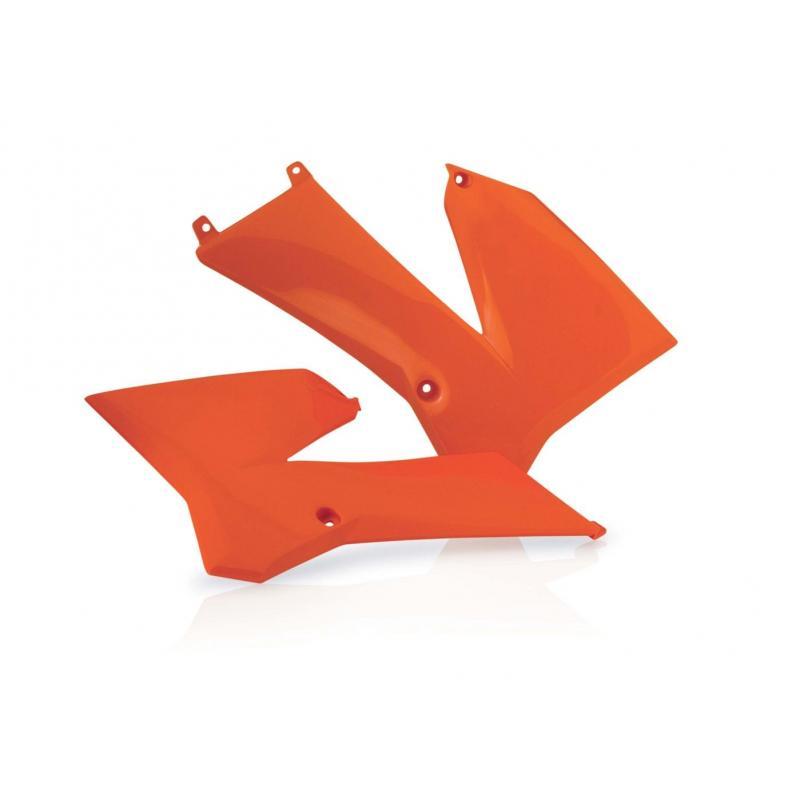 Ouïes de radiateur Acerbis KTM 85 SX 06-12 orange (paire)