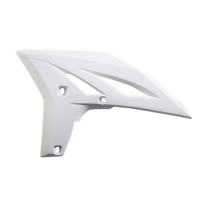 Ouïes de radiateur Acerbis Yamaha 250 YZF 10-13 blanc (paire)