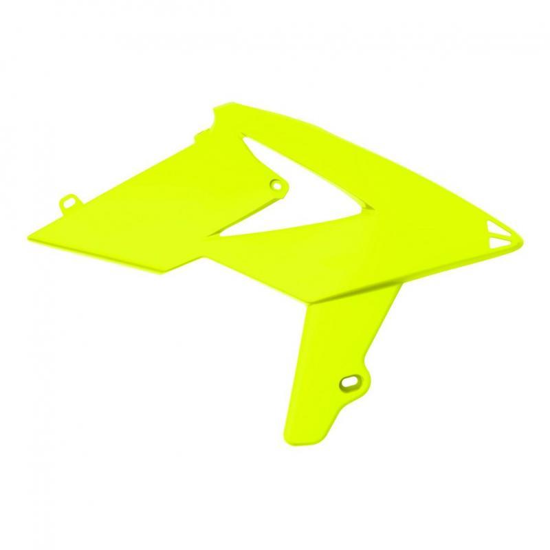 Ouïes de radiateur Polisport Beta RR 250 2T Enduro 13-19 jaune fluo